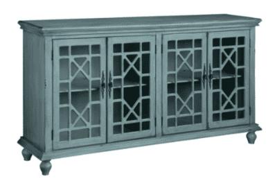 4panel glass sideboard